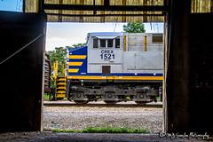 CREX 1521   GE ES44AC   CN Memphis Subdivision