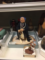 Cherokee figure circa 1885