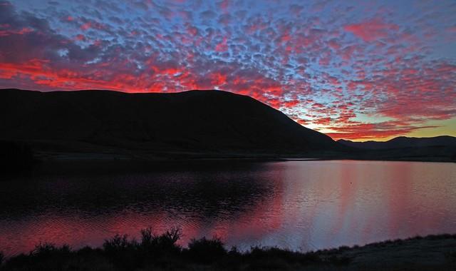 Sunrise Lake Clearwater New Zealand