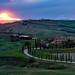 Tuscany Sunset by PhiiiiiiiL
