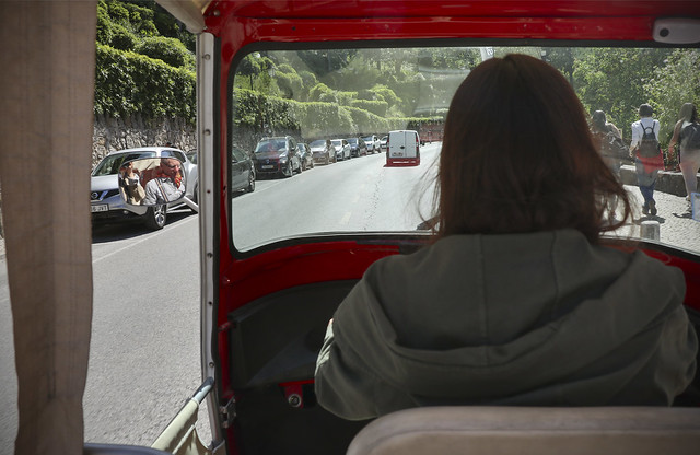 Sintra on the taxi