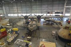 More of the restoration hanger