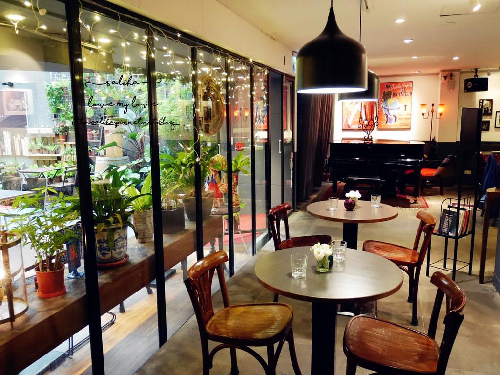 台北公館站汀洲路附近餐廳美食推薦瑪德蓮書店咖啡早午餐下午茶 (6)