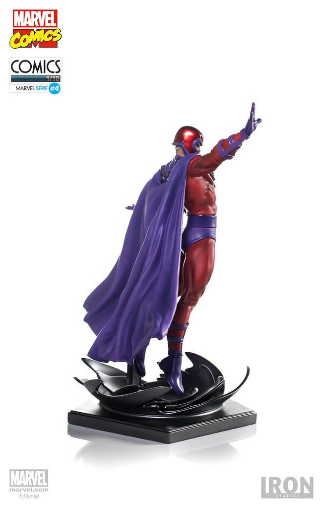 真的飄起來了?!Iron Studios X 戰警【萬磁王】Magneto 1/10 比例全身雕像作品
