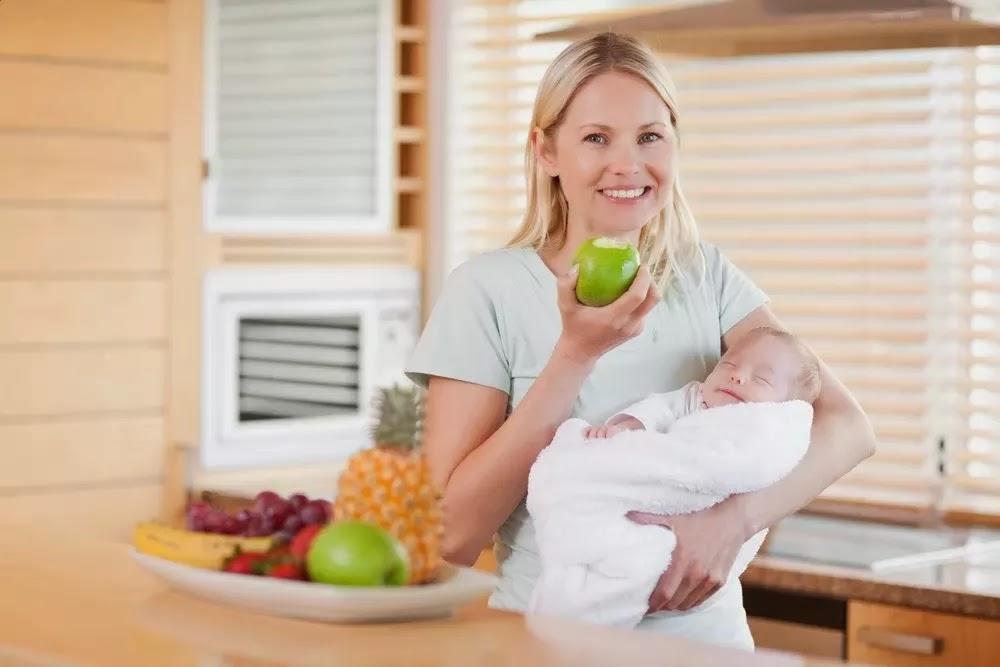Makanan Untuk Menurunkan Berat Badan Ibu Menyusui