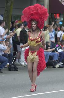 Pride parade on Broadway, 2002