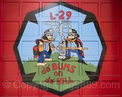 FDNY Firehouse Ladder 29 Door Painting, Port Morris, Bronx, New York City