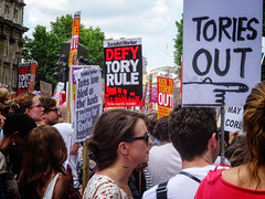 #MayMustGo Tories Out