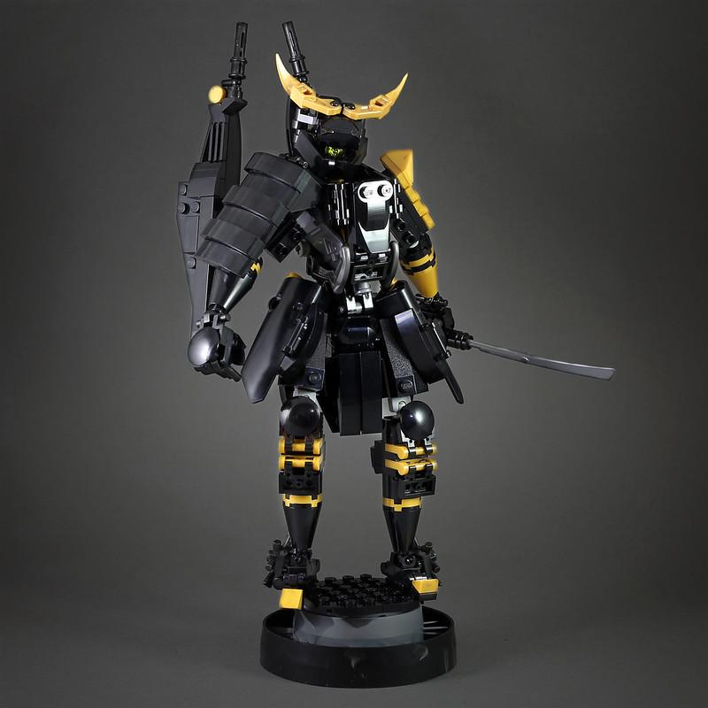 [MOC分享] Black Samurai Mech