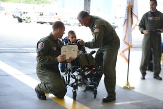Coast Guard, Make-A-Wish Alaska and Washington grant child's wish in Kodiak