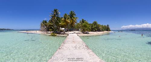 basseterre bleu canonef1635mmf4lisusm canoneos6d ciel flickr grandeterre guadeloupe2017 iletdugosier jetski mer nuage palmier panorama ponton sable touriste turquoise île