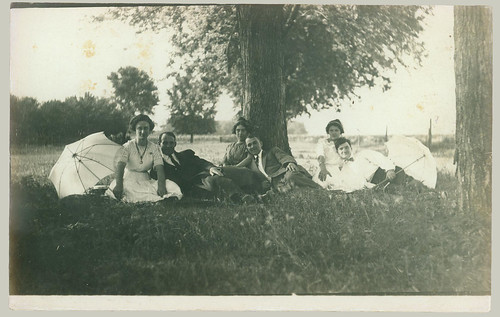 Gang at a picnic