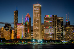 Chicago Pride Skyline