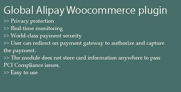 Global Alipay WordPress Plugin free download