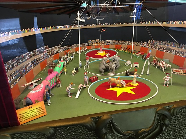 A model of the circus at Madison Square Garden
