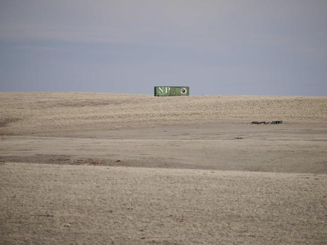 Boxcar in a field, Panasonic DMC-G2, LUMIX G VARIO 45-200mm F4.0-5.6
