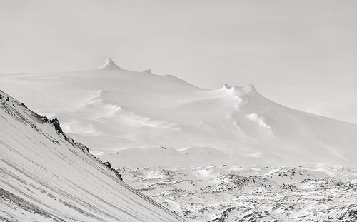 snæfellsjökullvolcano iceland snæfellsnespeninsula snæfellsnes snow summit volcano mtstapafell melvinnicholsonphotography canonuk