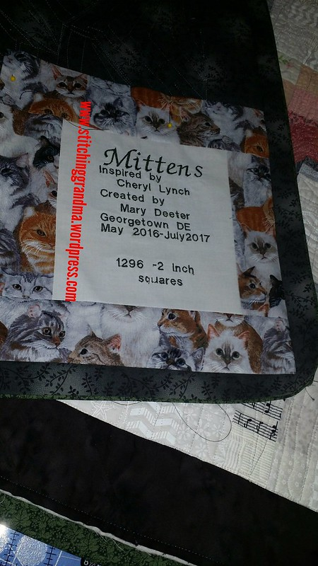 Label for my Pet Mosaic project