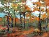 Autumn's Charm, Acrylic, Lorene Runham