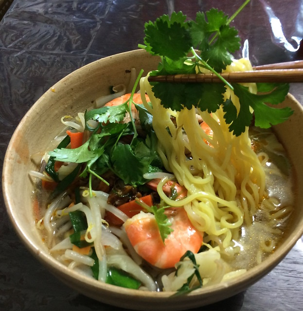 Coriander Noodle and Soupe