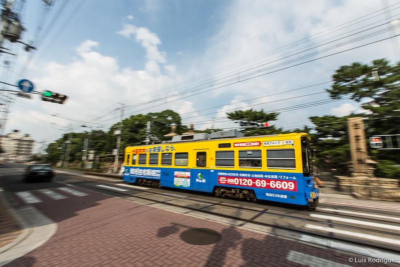 Tranvía en Osaka