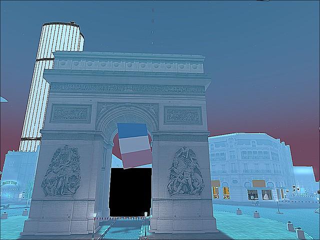 Happy Bastille Day!!f - Paris 1900 - Arc de Triomphe