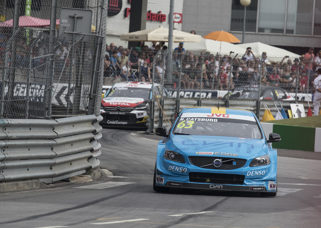 63 CATSBURG Nicky (ned) Volvo S60 Polestar team Polestar Cyan Racing action during the 2017 FIA WTCC World Touring Car Championship race of Portugal, Vila Real from june 23 to 25 - Photo Gregory Lenormand / DPPI