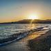 Puesta de Sol en la playa de Torrenueva (Granada)