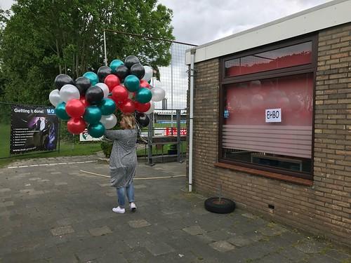 Heliumballonnen Voetbalvereniging PFC Geervliet