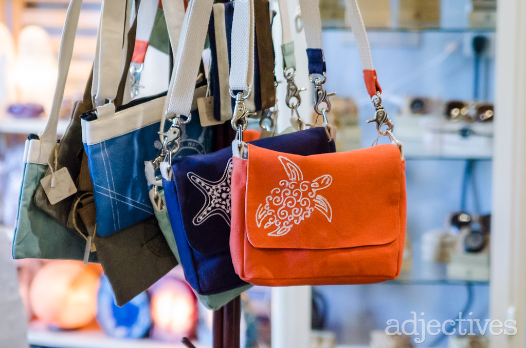 Beach inspired bags by Sprinkles Gifts in Adjectives Altamonte
