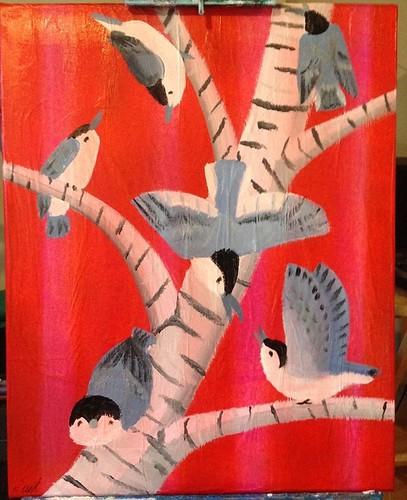 Bird Paintings!