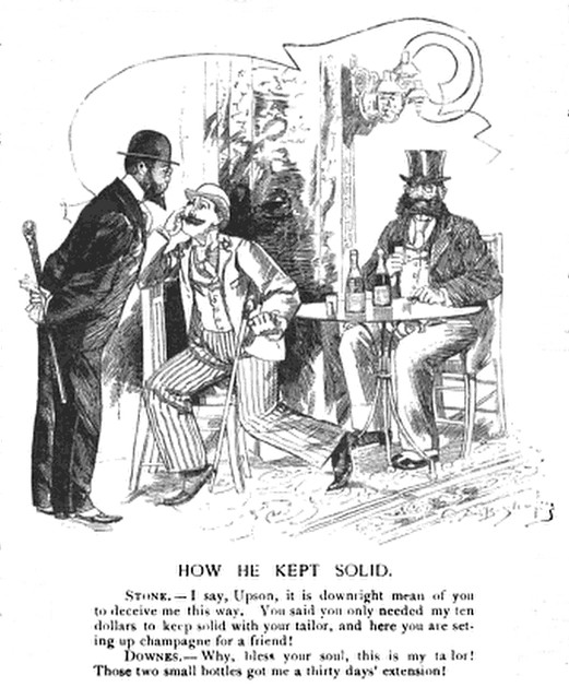 how he kept solid (1888)