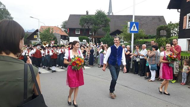 Bezirksmusikfest in Fraxern