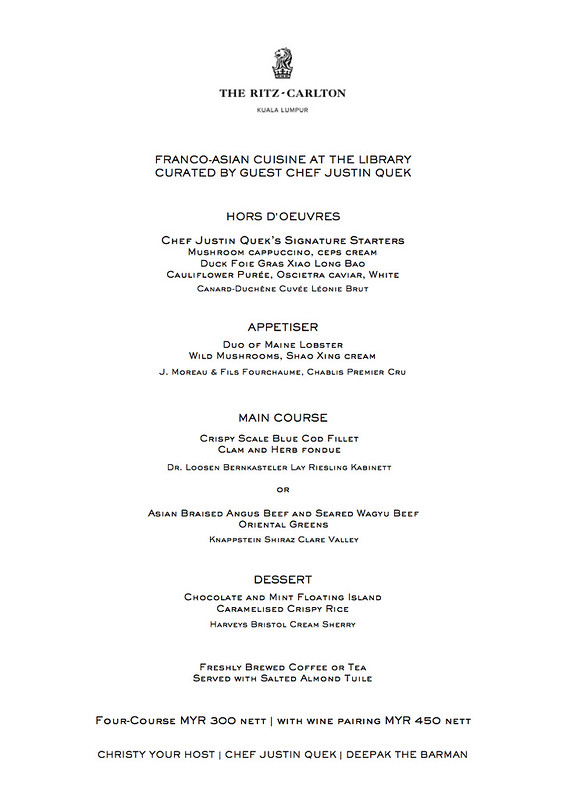The Library - Menu