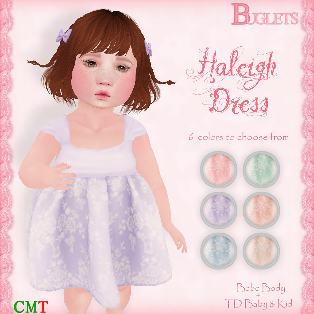 Haleigh Dress AD - SecondLifeHub.com