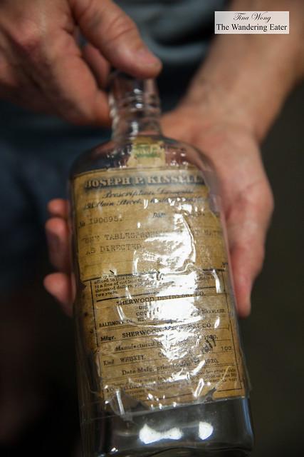An old prescription for a hard liquor