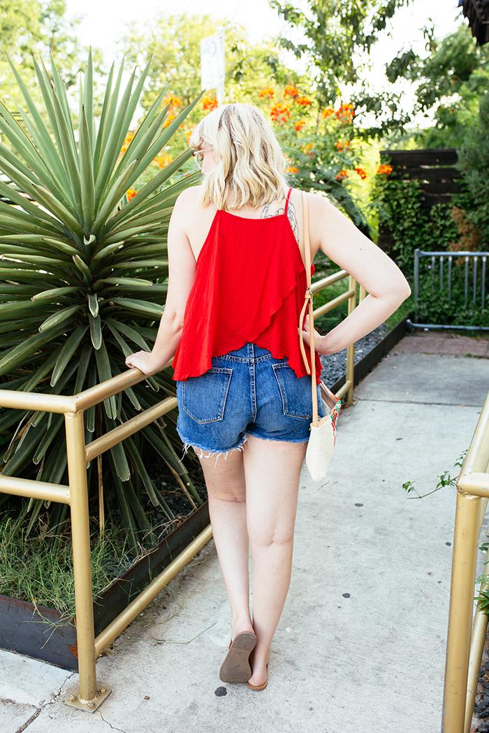 austin fashion blogger writes like a girl red tank top14