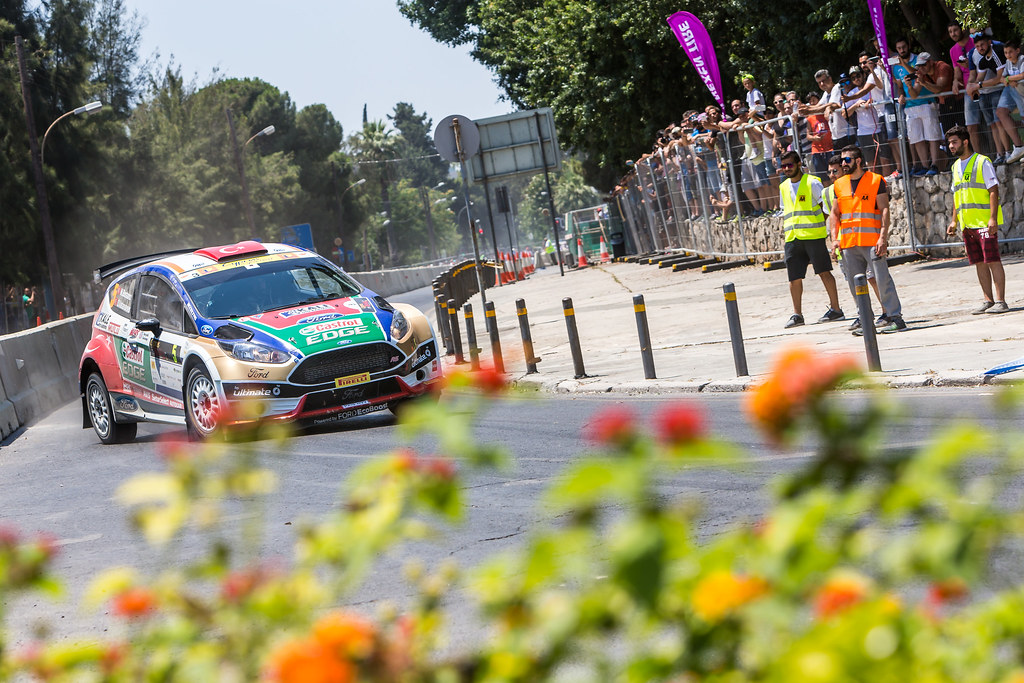 05 BOSTANCI Murat (tur) and VATANSEVER Onur (tur) CASTROL FORD TEAM TÜRKIYE FORD FIESTA R5 action during the 2017 European Rally Championship ERC Cyprus Rally,  from june 16 to 18  at Nicosie, Cyprus - Photo Thomas Fenetre / DPPI