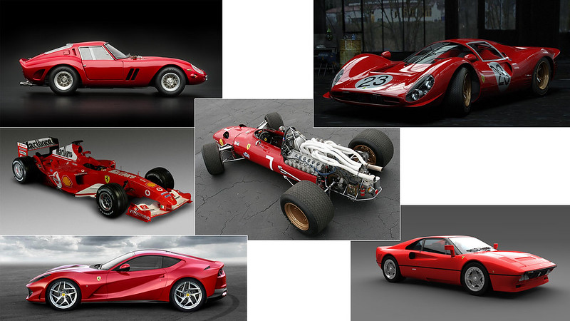 AC Ferrari 70 models2