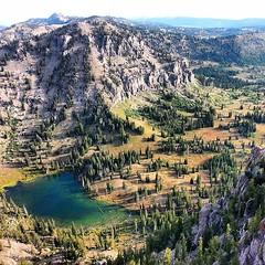 Yep, we killed that magog peak today:) Here's a nice Birdseye view of #whitepine! Beautiful country up here:) #cachevalley #outdoors #nature #utahstate #usu #mountains #magog #highpointing #peak #hiking #hike #explore #climb #adventure #utahgram #in2natur