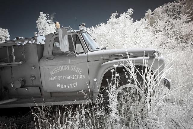 Fire Truck Infrared