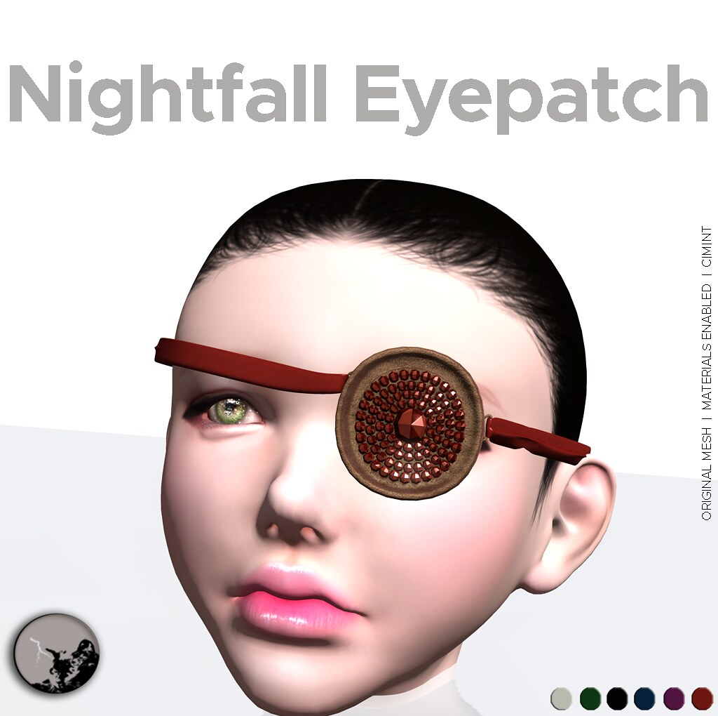 Nightfall Eyepatch @ the Darkness Monthly Event - SecondLifeHub.com