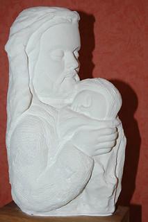 40.- St. Joseph et l'enfant 1