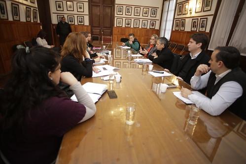 Reunión con el Ministro de la Primera Infancia Carlos Abrleira