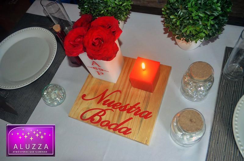 centro de mesa boda aluzza