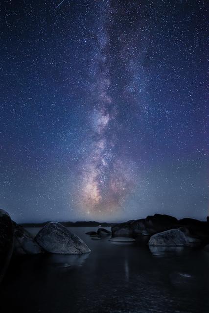 Milky Way at Lake Tahoe