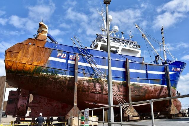 PD625 Fraserburgh Fishing Harbour Scotland 2017