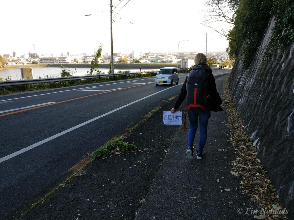 hitchhiking takamatsu
