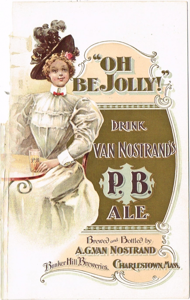 Van-Nostrands-P-B-Ale-Paper-Ads-Bunker-Hill-Breweries-A-G-Van-Nostrand