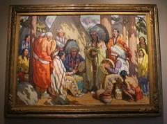 Artwork at the Briscoe Museum - San Antonio